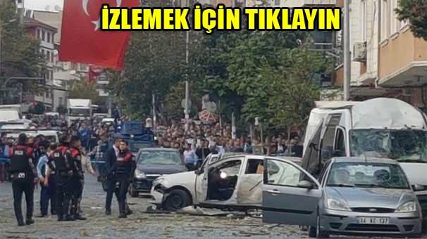 İstanbul Yenibosna'da Patlama Milliyet haber 06 Ekim 2016